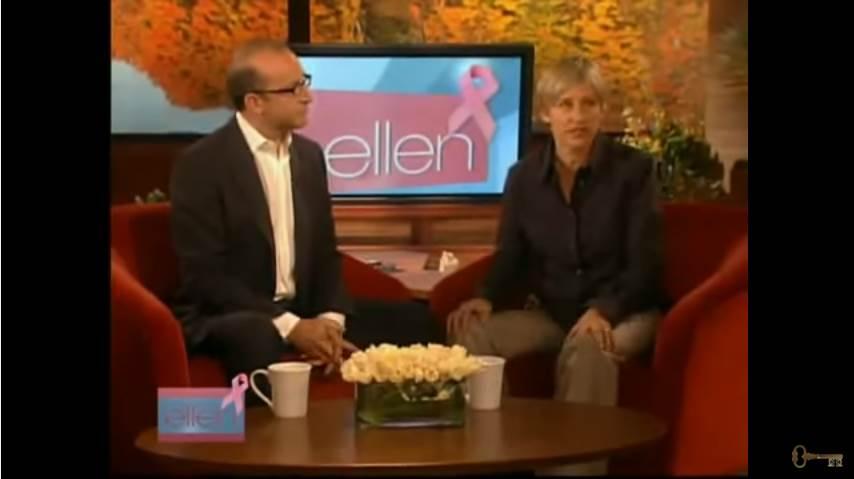 Video of how Ellen Degeneres is hypnotised to stop smoking