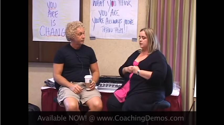 Video of how Hypnosis helps clients with stage fright